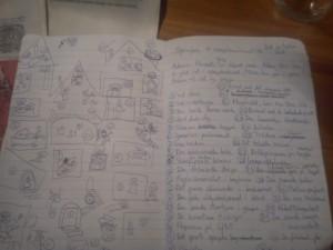 Adam og det mystiske spøgelseshus - noter