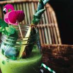 Grøn juice med mynte og ananas af Louisa Lorang