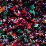 Tomat- og granatæblesalat af Yotam Ottolenghi