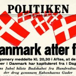 Danmark er befriet!