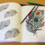 Kreativitet og mindfulness – malebøger til voksne er et hit