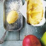 Mango-yoghurtis