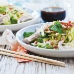 Spidskål, peanuts, mynte, og lime – God med kylling