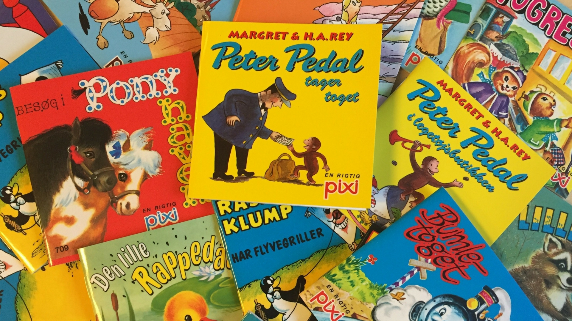 pixi-bøger, børnebøger, børnebøger til ferien, sommerferielæsning