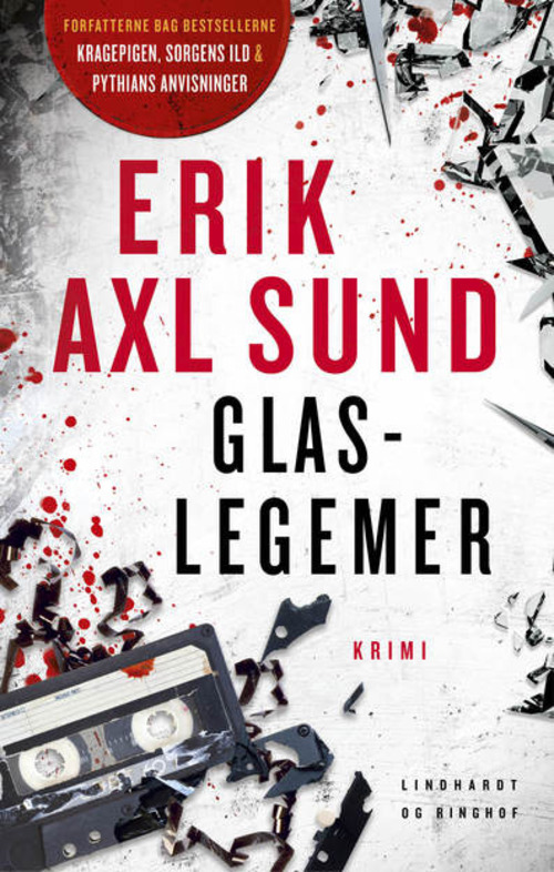 krimi, kriminalroman, mord, Erik Axl Sund, glaslegemer, Jens Hurtig