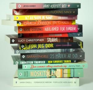 Young adult-bøger, ya-bøger, sonar, ungdomsbøger