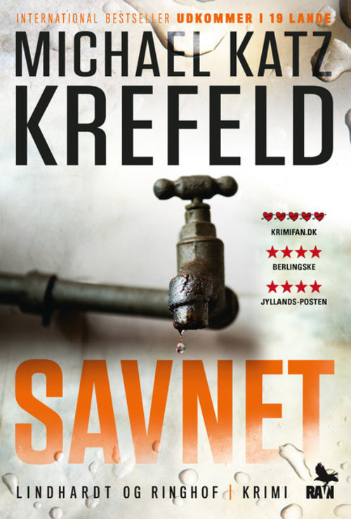 Michael Katz Krefeld, krimi, Ravn serien, savnet