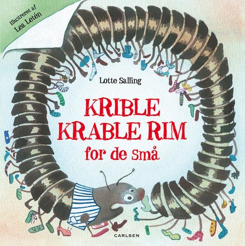 Krible Krable rim, lotte saling, børnebøger, dialogisk læsning, børnebøger til sommerferien