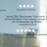 """Stjerneanmeldelser til Jonas Eika: """"Lageret Huset Marie"""""""