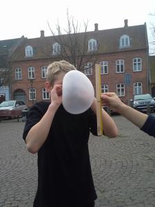 ballon med naesen