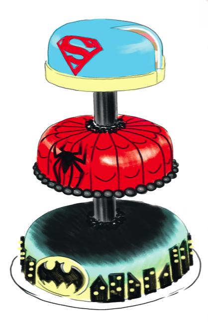 Superheltekage 2