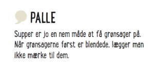 Rigtige mænd - Palle quote om suppe