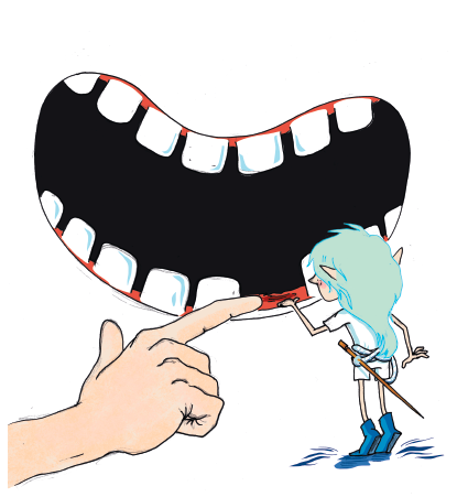 johan og tandfeen
