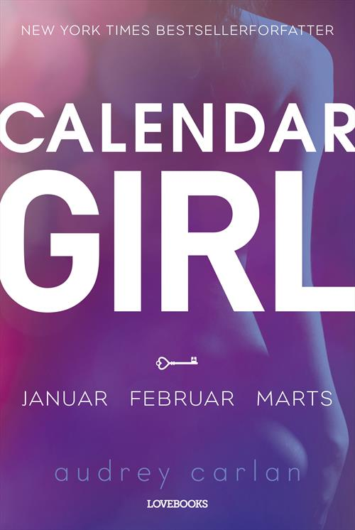 sommerlæsning paperbacks lindhardt & ringhof forlag Audrey Carlan Calendar Girl