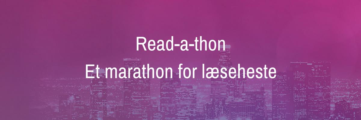 Read-a-thonEt marathon for læseheste