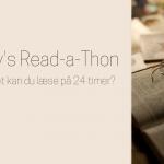 Dewey's Read-a-Thon: Hvor meget kan du læse på 24 timer?