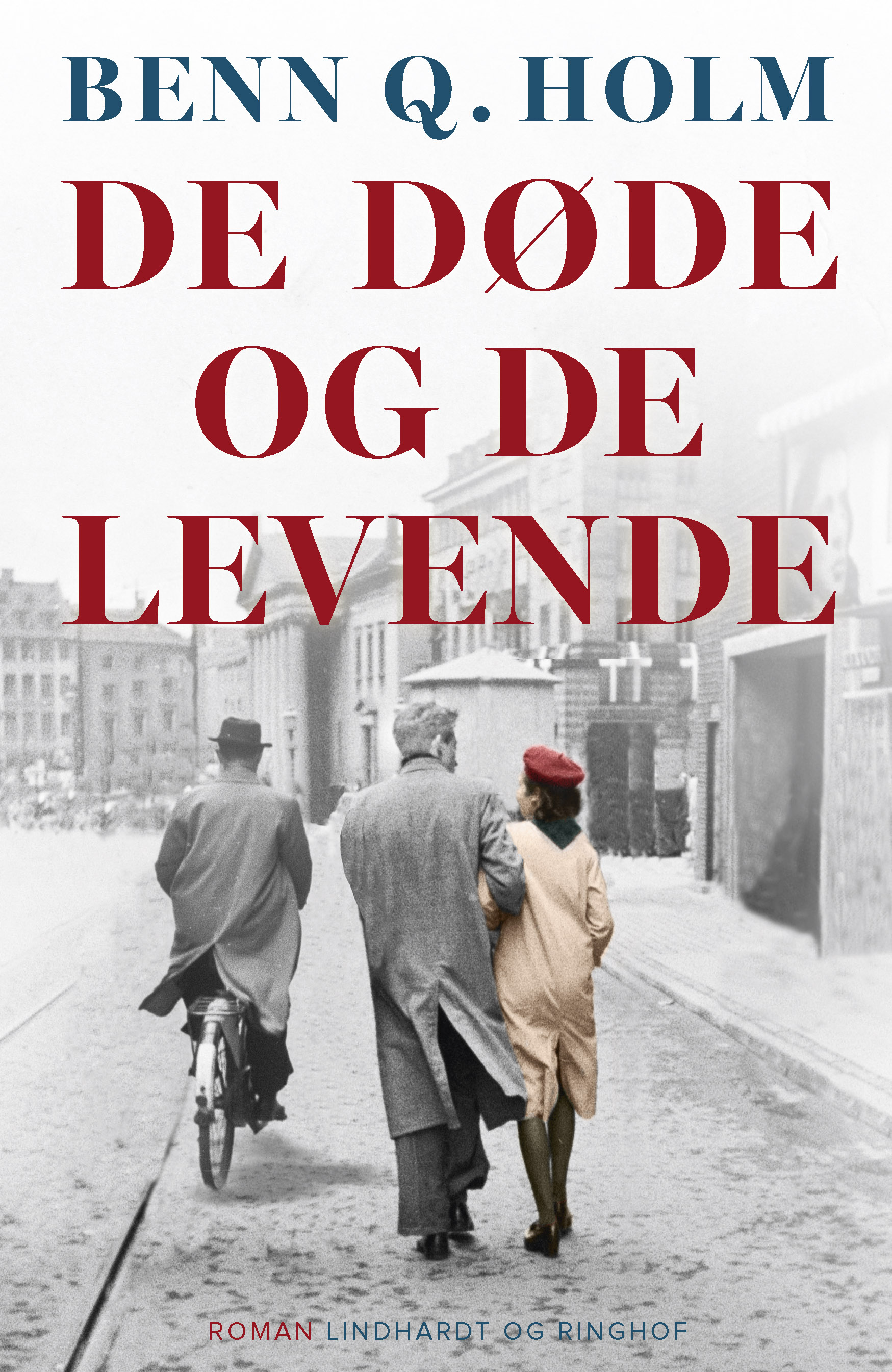 De døde og de levende, Benn Q. Holm, roman, Anden Verdenskrig