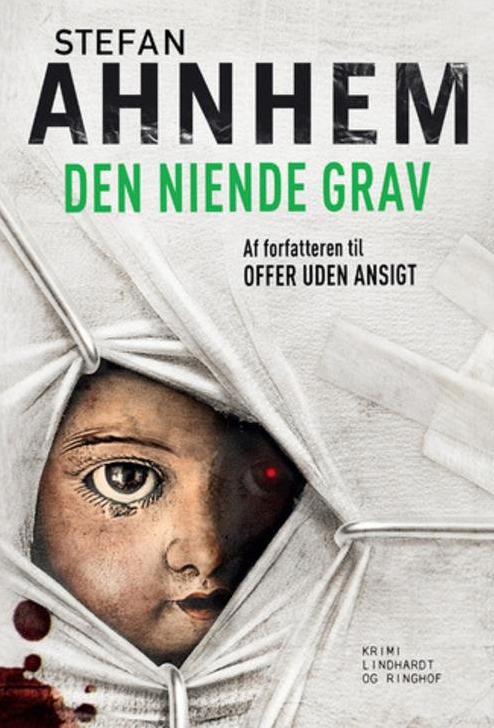 Stefan Ahnhem, Fabian Risk, Fabian Risk serie, svensk krimi, krimiserie, Den niende grav
