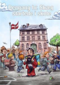 Dengang Hr. Skæg startede i skole, hr. skæg, børnebøger