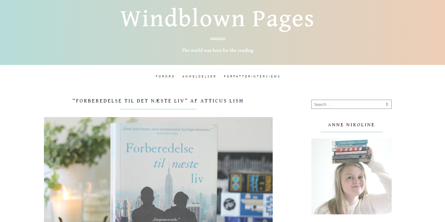 Windblown pages