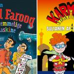 Nye bøger med humor – for de 8-12-årige