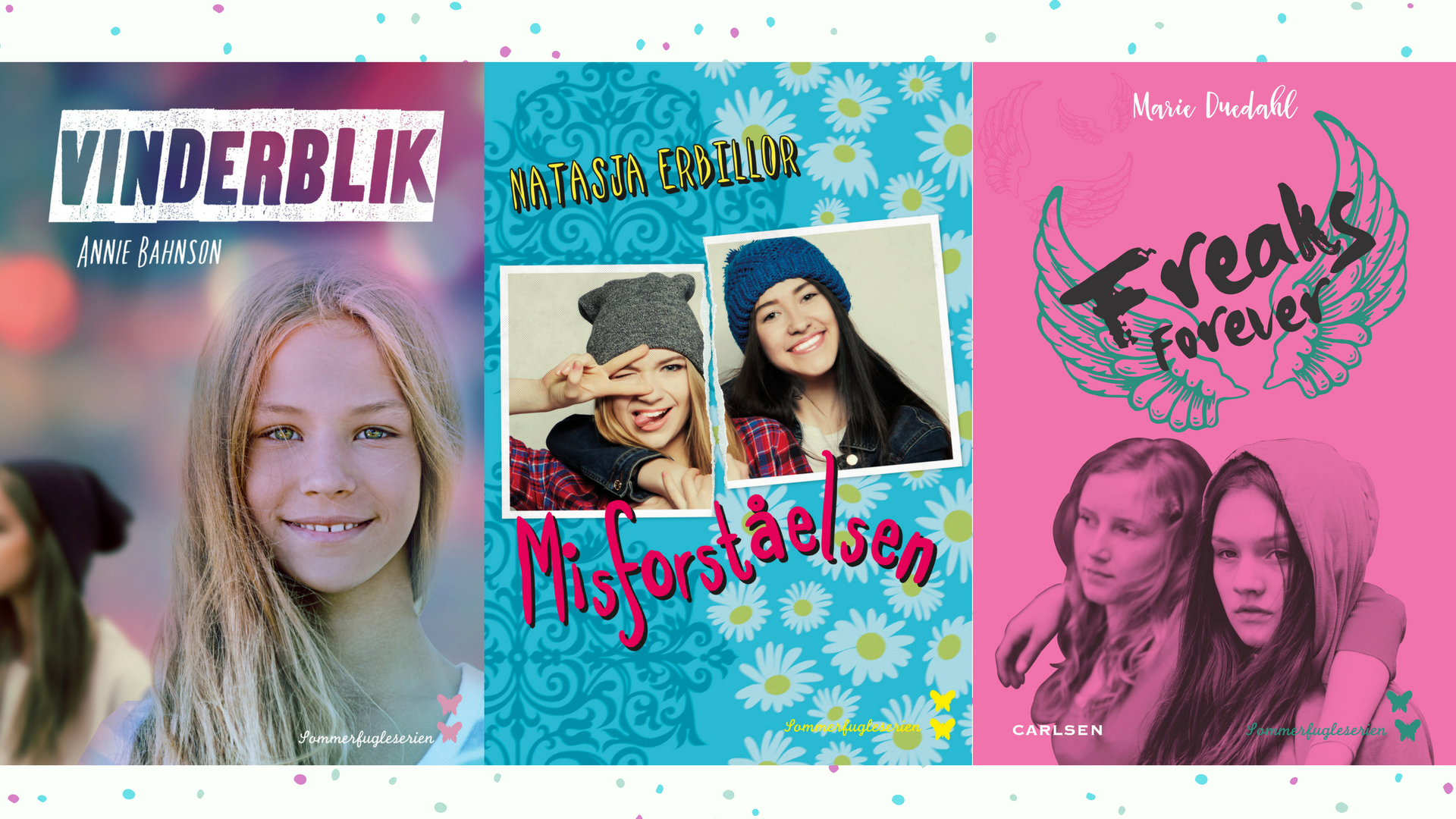 ungdomsbøger piger