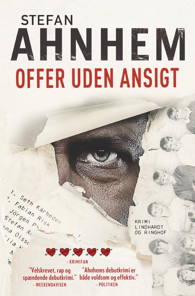 Stefan Ahnhem, Fabian Risk, Fabian Risk serie, svensk krimi, krimiserie, offer uden ansigt