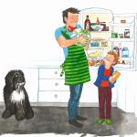 Helen Lyng Hansen: Tag dit barn med i køkkenet og undgå konflikter ved middagsbordet