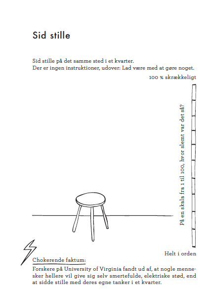 En mindfulness øvelse fra bogen JEG ER HER NU