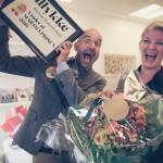 Danskernes yndlingsforfatter overrasket på forlaget