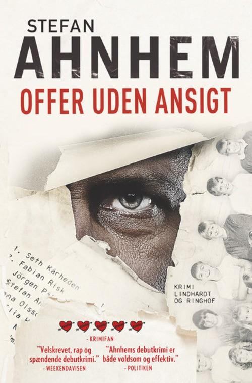 krimi, kriminalroman, mord, Stefan Ahnhem, offer uden ansigt, Fabian Risk