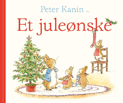 Peter Kanin, Peter Kanin - Et juleønske, Beatrix Potter, julebog, jul