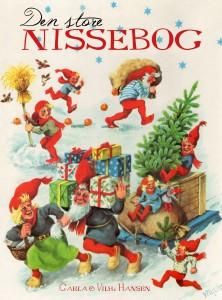 Den store nosebag, Carla og Vilhelm Hansen, nissebog, jul, julebog