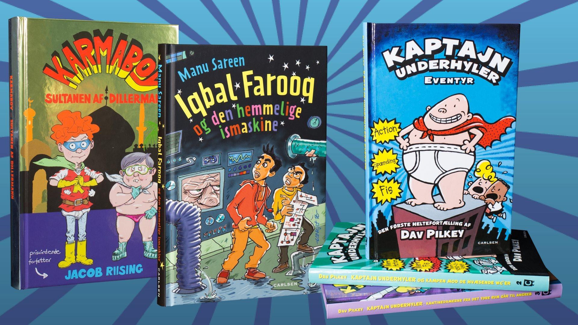 børnebøger, fart over feltet, børnebøger