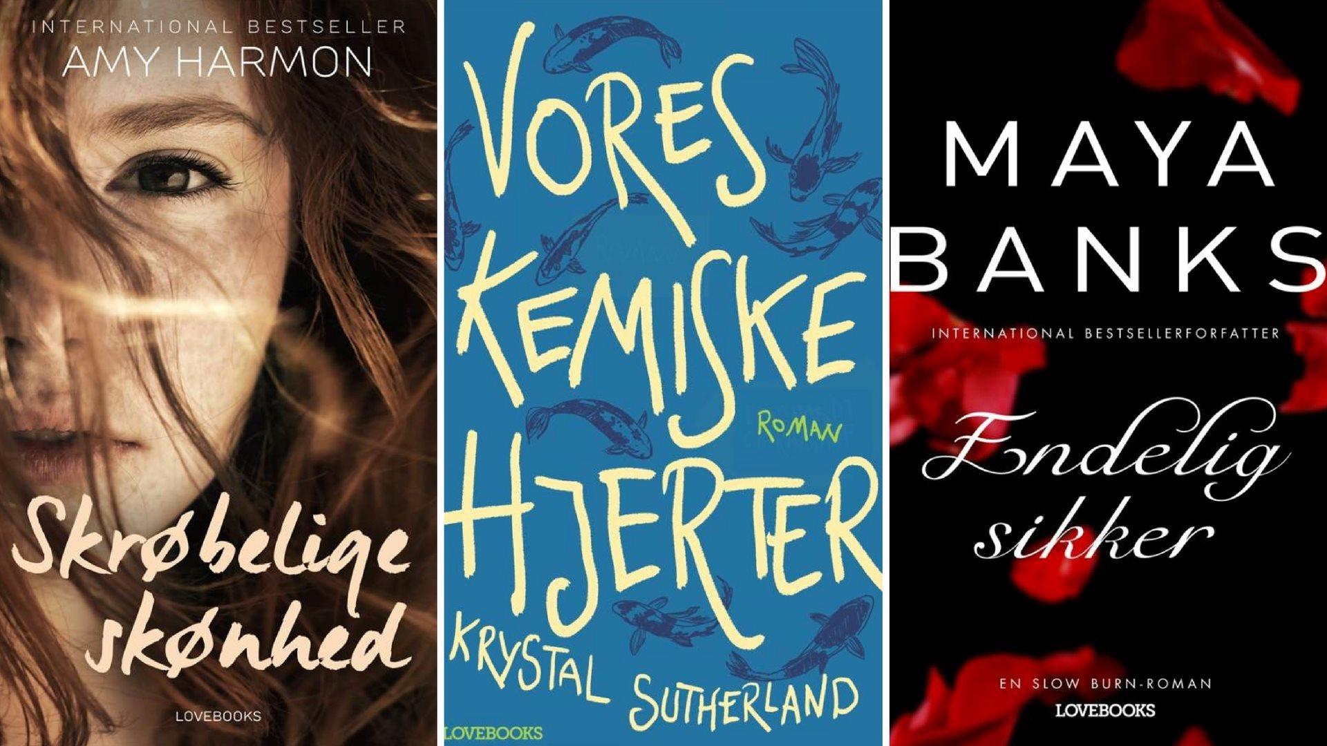 Kærlighedsromaner 2015