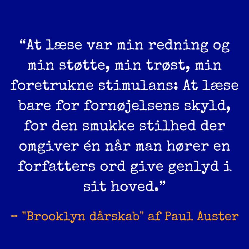 Brooklyn dårskab af Paul Auster