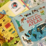 Tag på opdagelsesrejse med tre fantastiske børneatlasser
