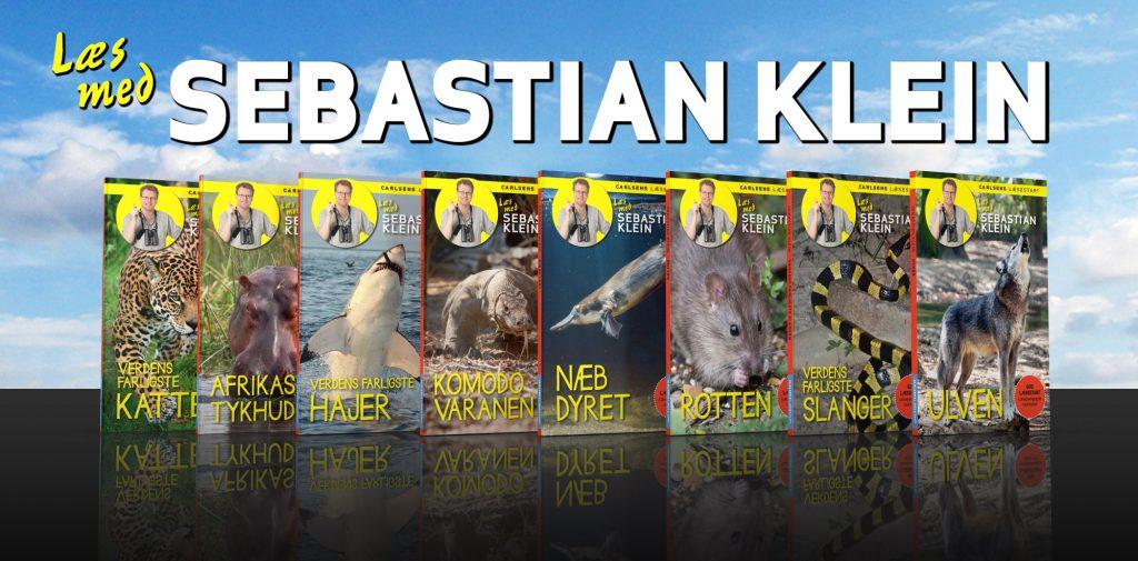 Læs med Sebastian Klein, Sebastian Klein, bøger om dyr