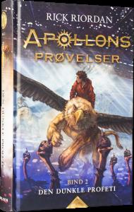 rick riordan, apollons prøvelser, den dunkle profeti, fantasy, fantasybog, fantasybøger