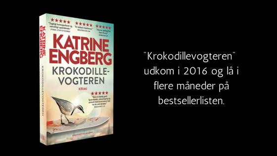 krokodillevogteren, katrine engberg, krimi, paperback