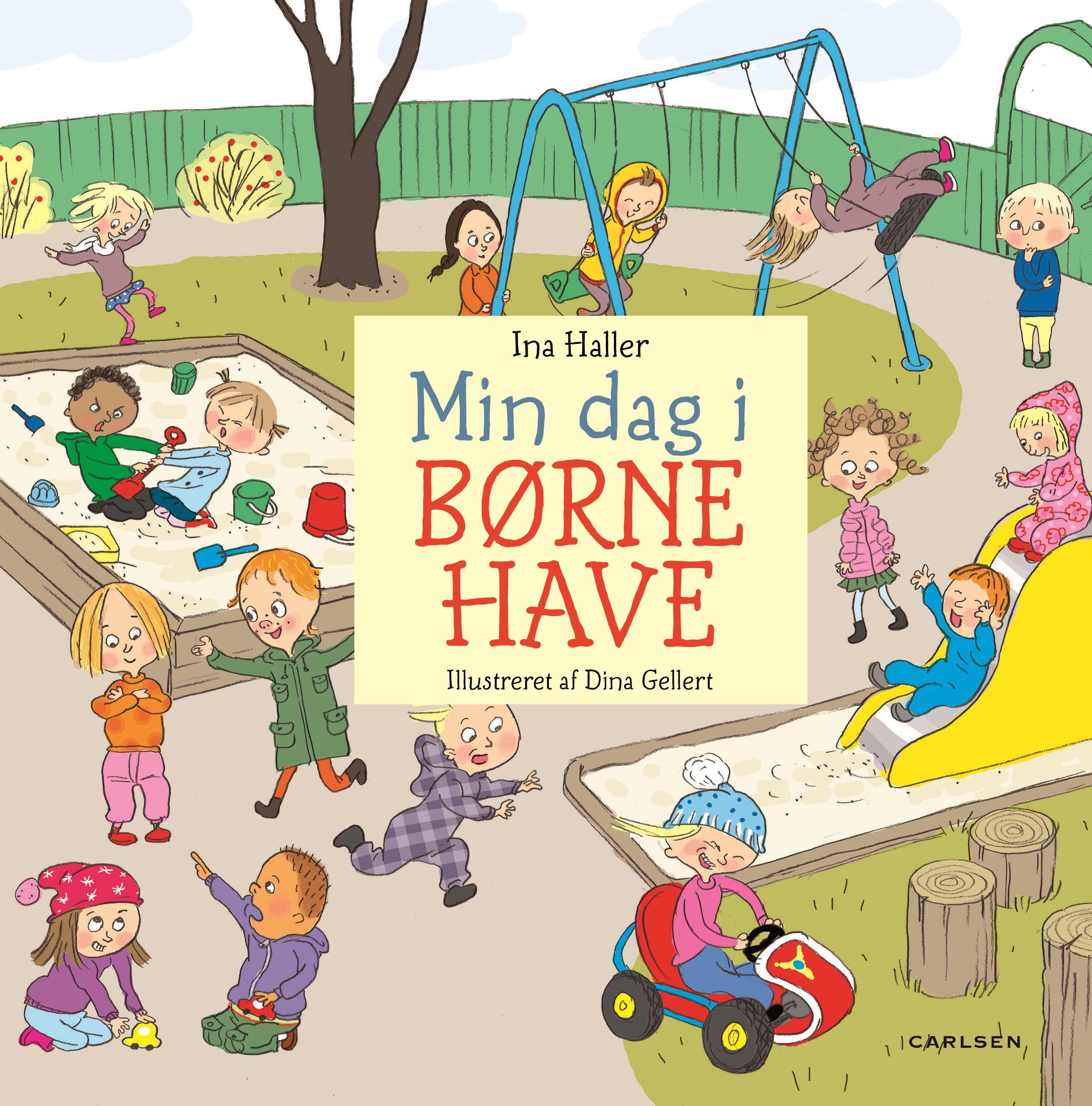 Min dag i børnehave, dialogisk læsning, børnehave, Ina Victoria Schou Haller