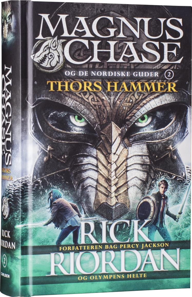 Magnus Chase, Rick Riordan, fantasy, mytologi