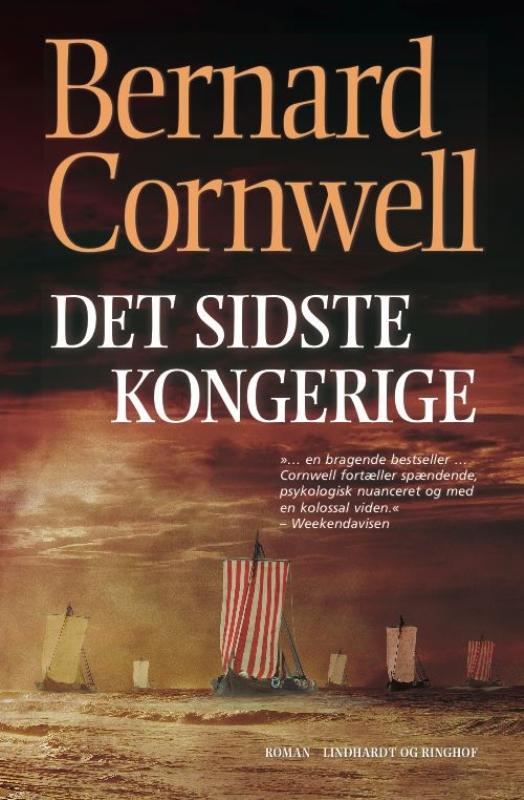 sommerlæsning paperbacks lindhardt & ringhof forlag Bernard Cornwell Det sidste kongerige