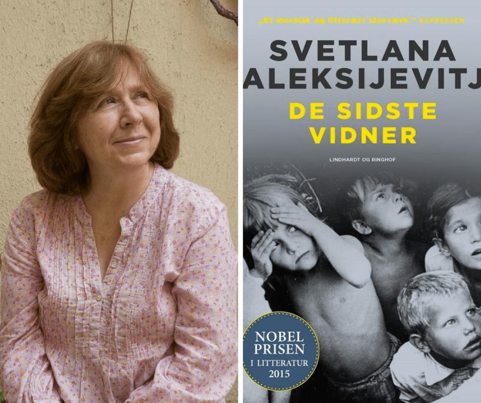 Louisiana Literature 2017 svetlana aleksijevitj de sidste vidner novelprisen i litteratur 2015