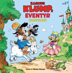 Rasmus klump, rasmus klumps eventyr klodshans, klodshans, børnebøger,