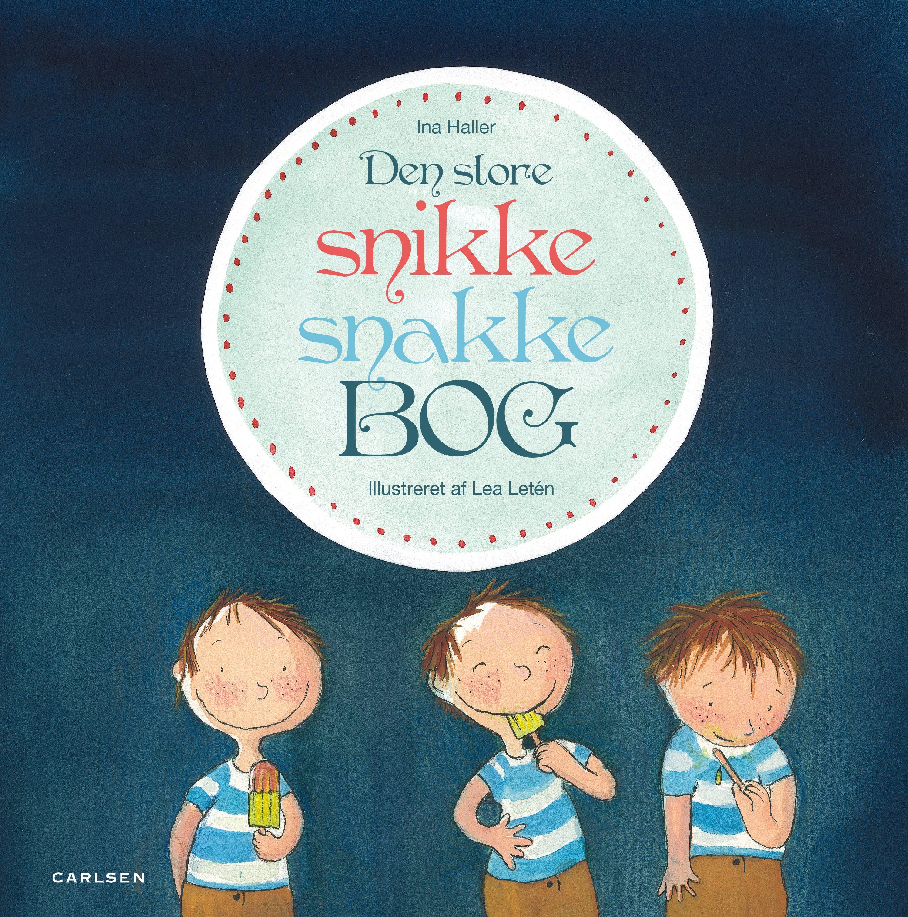 den store snikke snakke bog, dialogisk læsning, højtlæsning, børnebøger, krudtugle, krudt i, børne med krudt i