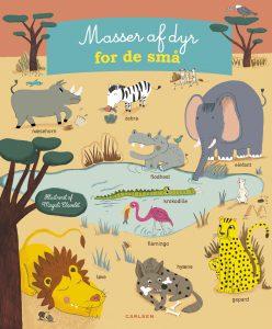 Masser af dyr for de små, børnebøger, lær ord