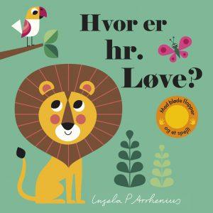Hvor er hr løve, børnebøger, ferielæsning, børnebøger til ferien