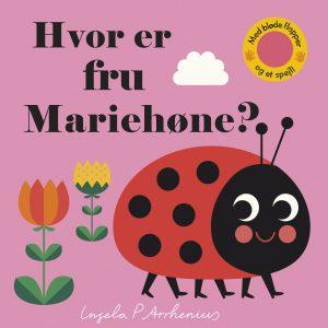 Hvor er fru Mariehøne , børnebøger, ferie, sommerferielæsning, børnebøger til ferien