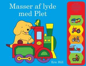 Masser af lyde med plet, plet, børnebøger